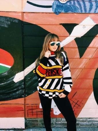 vintage Diane von Fürstenburg sweater