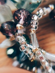 closeup of necklace