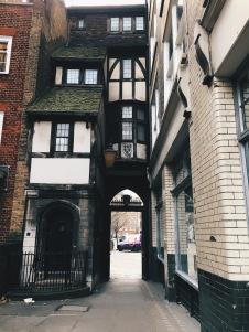 true Tudor paneling!
