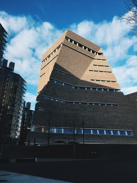 Stunning architecture of Tate Modern's newest addition - the Switch House