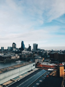 view from Tate Modern balcony