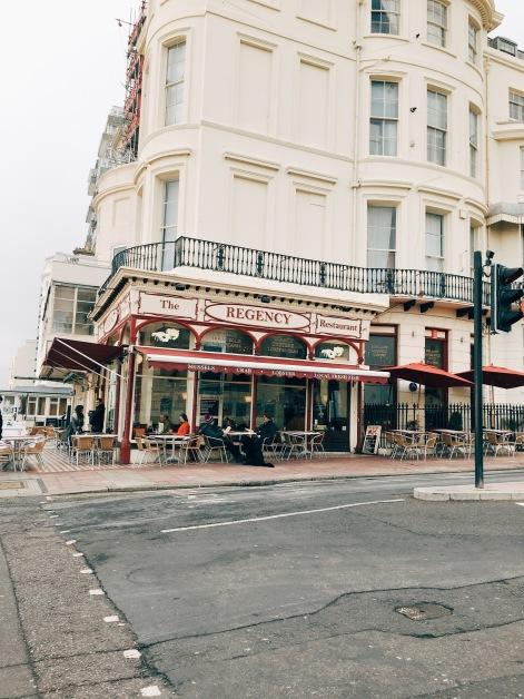 The Regency - best fish n' chips in Brighton!