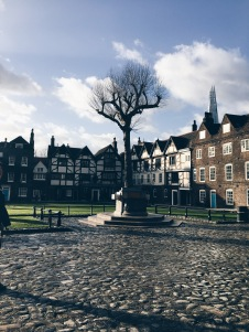 oldest, only remaining Tudor houses in the City of London - protected by the Tower of London during the Great Fire of 1666