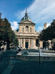 original Sorbonne building