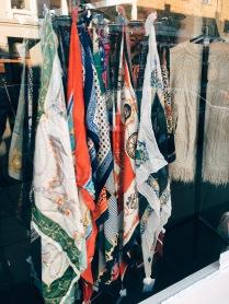 silk scarves in London