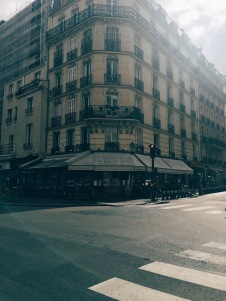 15e arrondissement - cafe for lunch