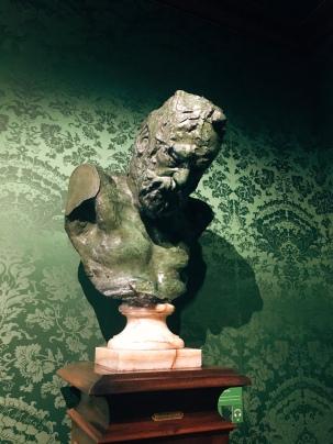 Rodin bust