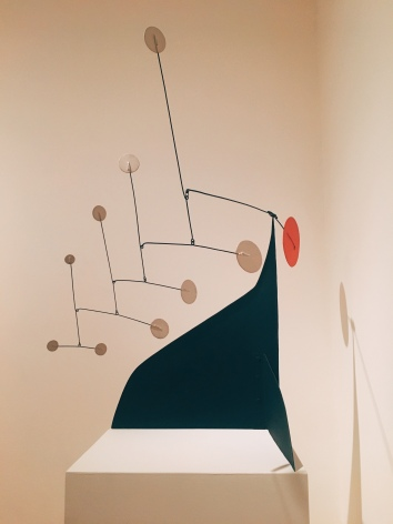 Alexander Calder - Red Disc-White Dots