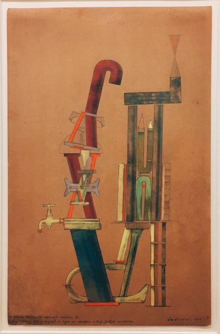 Max Ernst - Little Machine Constructed by Minimax Dadamax in Person