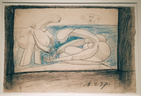 "Pablo Picasso - Study for ""On the Beach"""