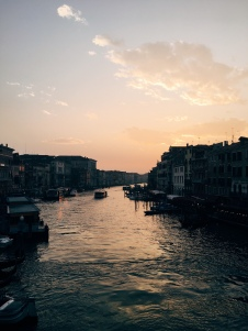 Sunset from the Rialto
