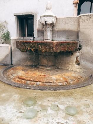 fountain at the Chiesa di San Martino