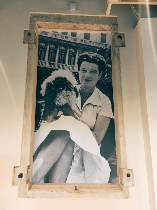 portrait of Peggy Guggenheim