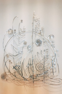 Alexander Calder - Silver Bedhead (that was actually placed above Peggy Guggenheim's bed)