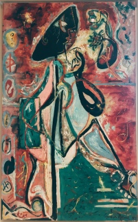 Jackson Pollock - The Moon Woman