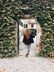 like a secret garden