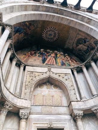 detail above the door