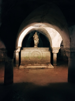 the crypt of San Zaccaria