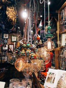 I bought beads from this eccentric store
