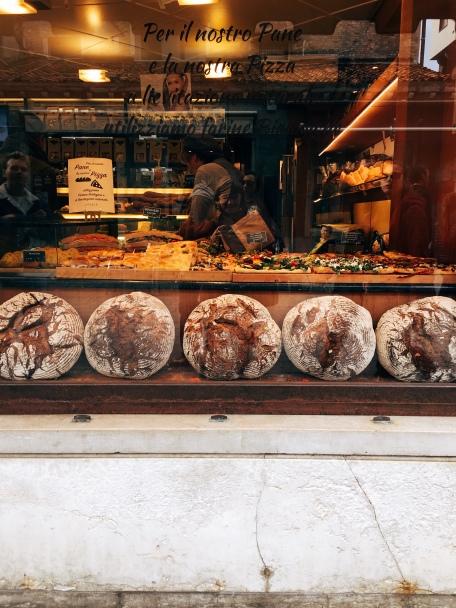 homemade bread, Dorsoduro
