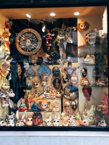 iconic Venetian masks
