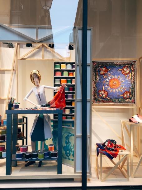 Hermès storefront