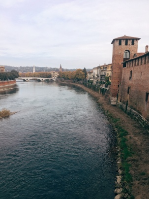 view over the Adige