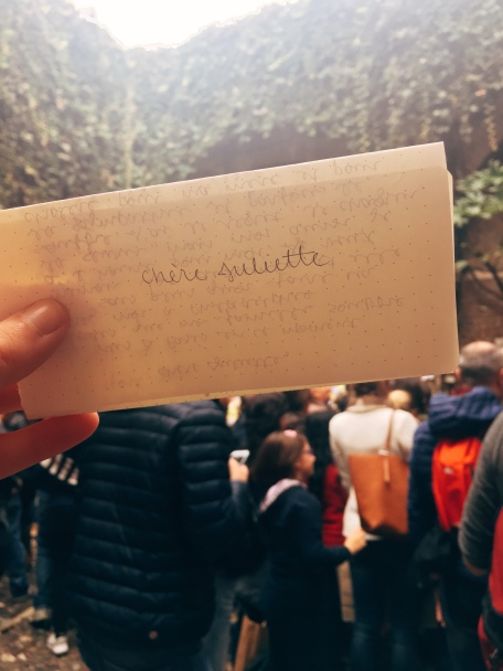 my letter to Juliet