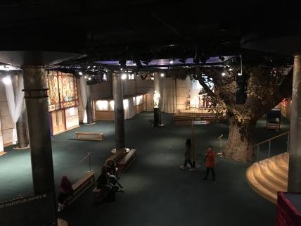 beginning of museum