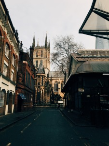 view of Southwark Cathedral