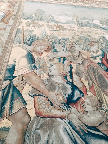 tapestry in the Grand Hall