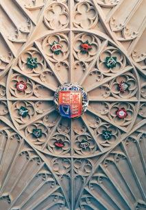 crest of King Henry VIII