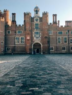 entrance to courtyard