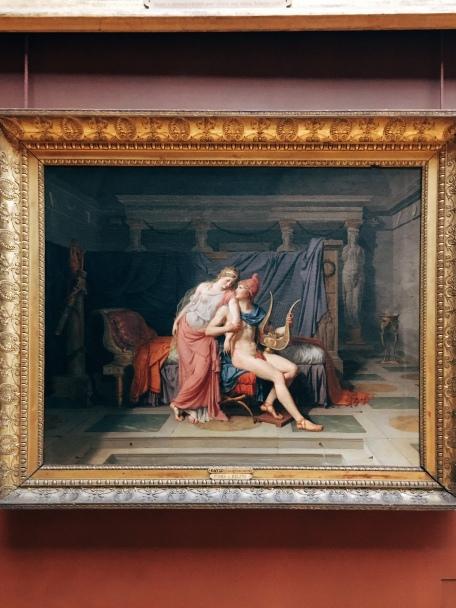 """""""Paris et Hélène"""" - David, 1788"""