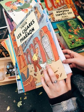 Tintin .. book of my childhood