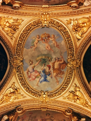 ceiling of Salon de la Paix