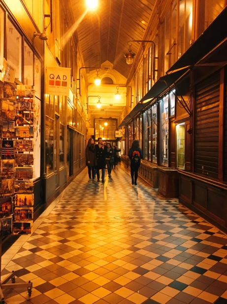 interior of Passage Jouffroy