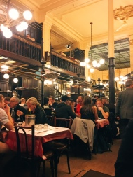 inside of the Bouillon Chartier