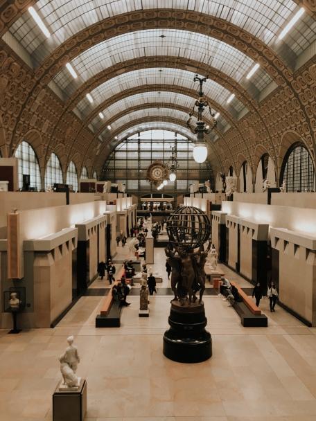 ground floor of the museum