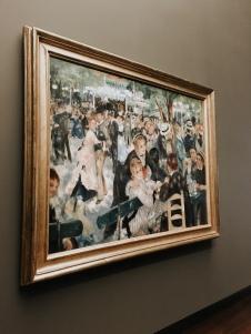 Pierre Auguste Renoir, Dance at the Moulin de la Galette